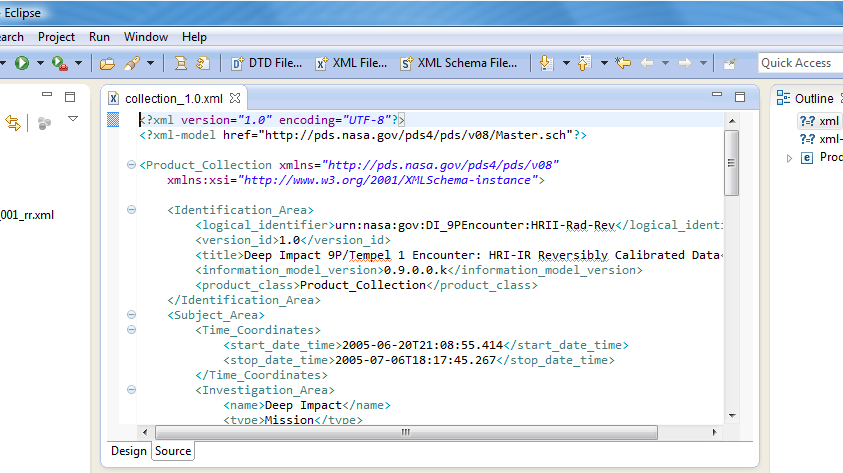 Configuring XML Schema validation - The SBN PDS4 Wiki