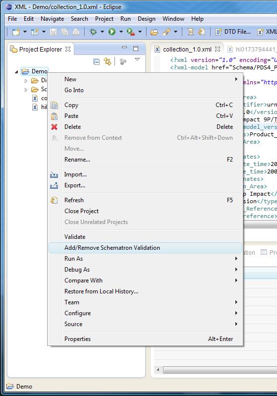 Configuring Schematron validation - The SBN PDS4 Wiki