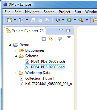 Eclipse: Creating a New XML File from an XSD Schema File